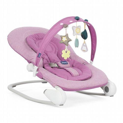 ★衛立兒生活館★Chicco Hoopla可攜式安撫搖椅-丁香紫