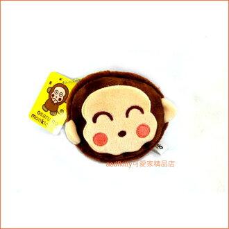 asdfkitty可愛家☆淘氣猴絨毛娃娃鑰匙圈吊飾/掛飾-很大很顯眼-掛包包上或掛車上都好用-台灣正版商品