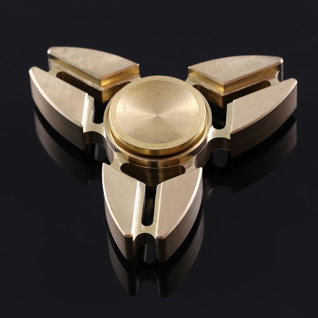 Hand Spinner 360 Tri Fidget Desk Stress Reducer EDC Focus Toy 0
