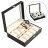 Synthetic Leather Glass Window 10 Slots Watch Storage Display Box Jewelry Case 0