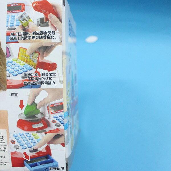 坤興超市音效收銀機 NO.031A 大型電動收銀機玩具(附電池) / 一盒入 { 促650 } ~大生(T2654) 5