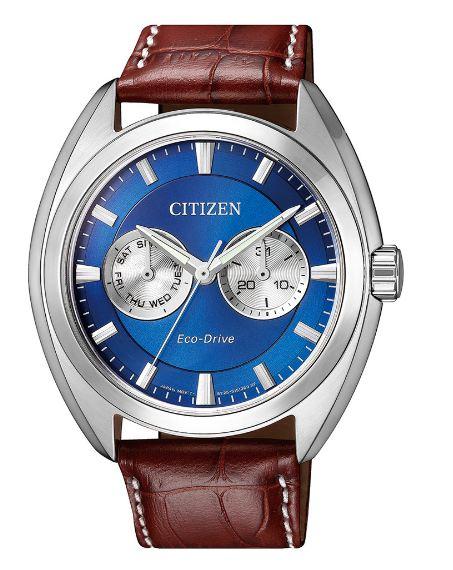 清水鐘錶 Citizen 星辰 BU4011-11L Eco-Drive 光動能 都會時尚優質腕錶 藍面 43mm