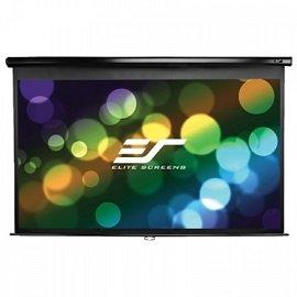 【音旋音響】Elite Screens 150吋 16:9 白塑布標準手拉布幕M150UWH2 公司貨 2年保固