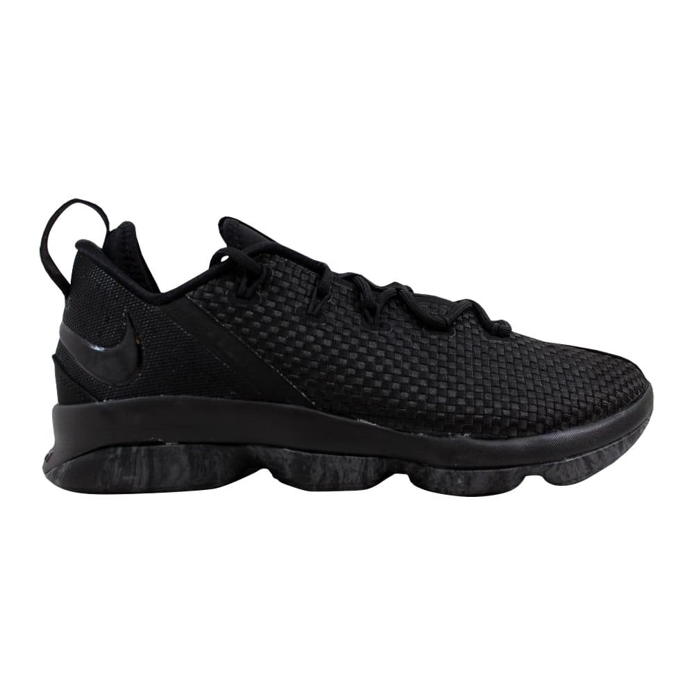 check out 17f51 2a5f9 Nike Lebron XIV 14 Low Black Black-Dark Grey 878636-002 Men s Size