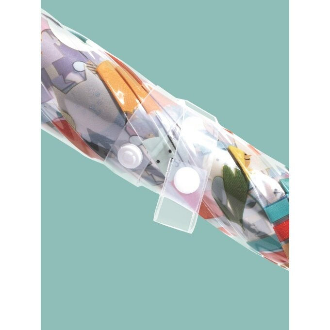 法國 Djeco智荷 藝術插畫雨傘 / 透明傘(多款任選) 4