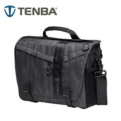◎相機專家◎TenbaMessengerDNA10特使肩背包攝影側背包墨灰638-471公司貨