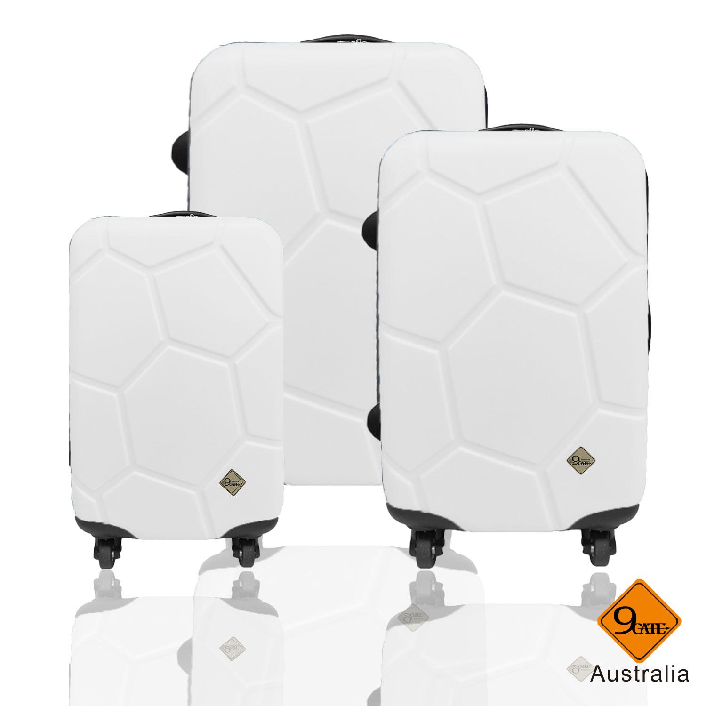 Gate9足球系列ABS霧面輕硬殼三件組旅行箱 / 行李箱 1