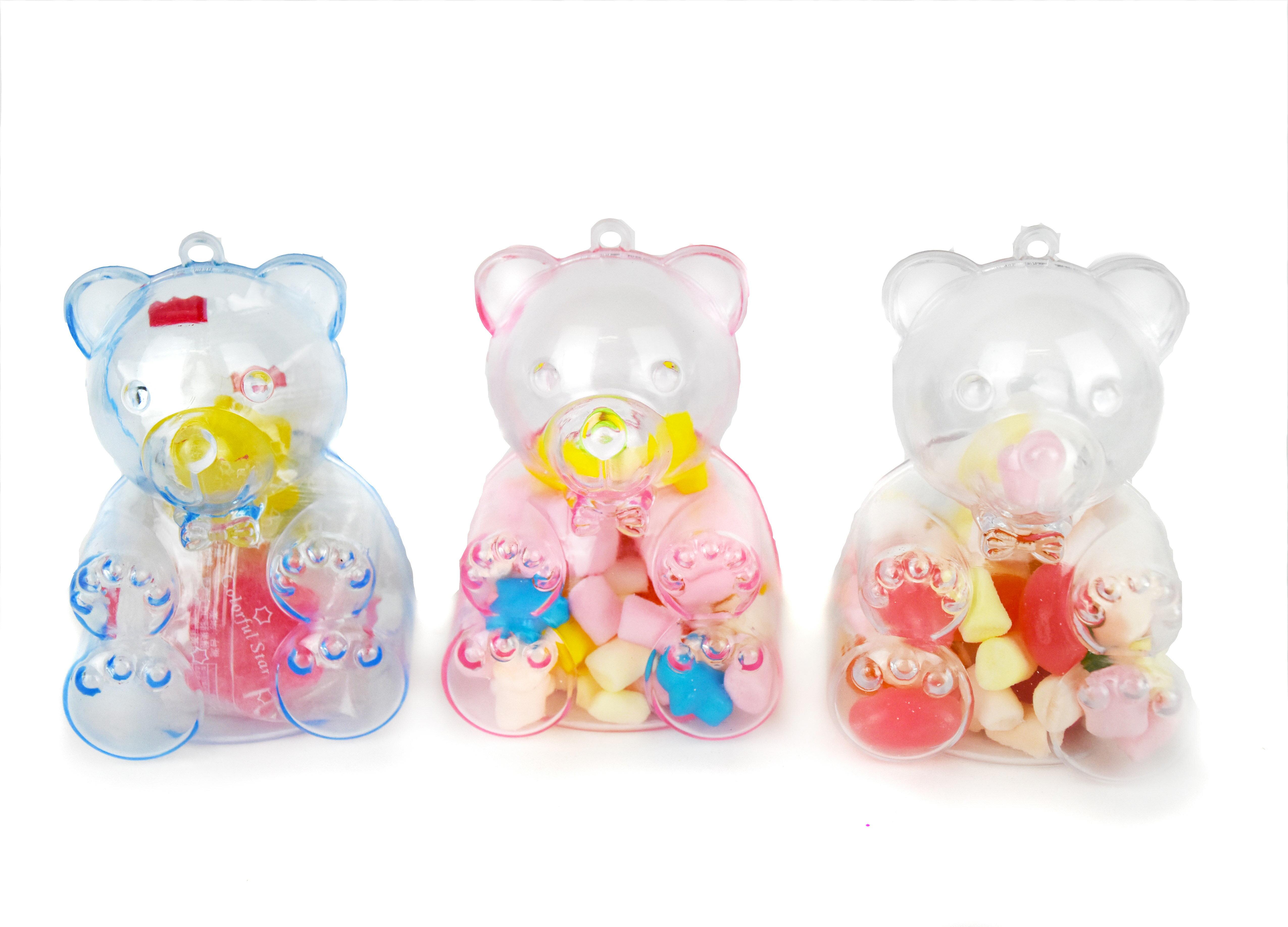 X射線【Y040003】小熊糖果組(不挑色),糖果襪/糖果罐/聖誕節/交換禮物/婚禮小物/兒童節/禮物/