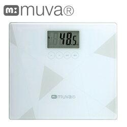 體重計SA5403WH[典雅白]MUVA健康幾何學BMI電子體重機