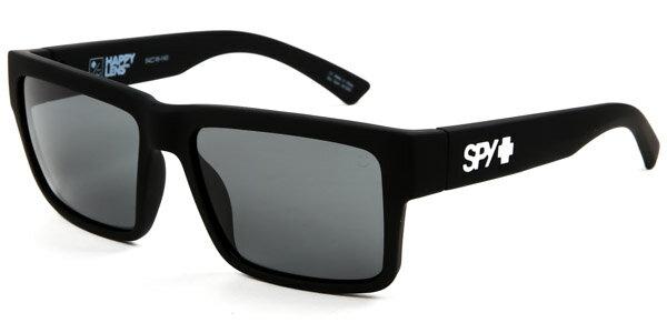 b7f190ce12 New Men Sunglasses Spy MONTANA SOFT MATTE BLACK - HAPPY GREY GREEN 54 0