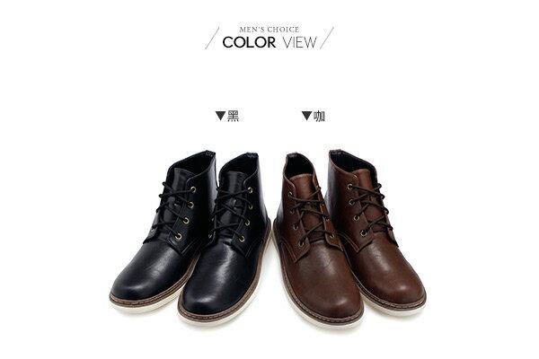 ☆BOY-2☆【NKP-FAP101】馬丁鞋 軍靴皮革高筒靴 2