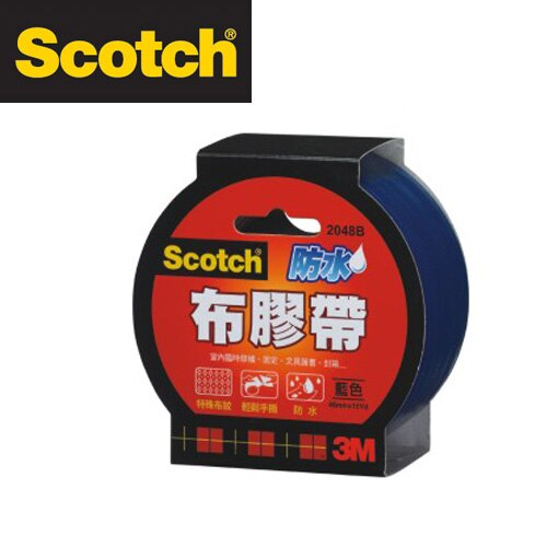 3M  2024B Scotch強力防水布膠帶24 mm x 15 y(藍色) / 個