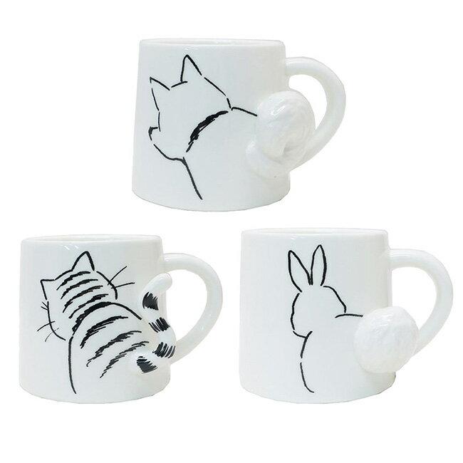 【日本正版】小動物 造型馬克杯 275ml 咖啡杯 馬克杯