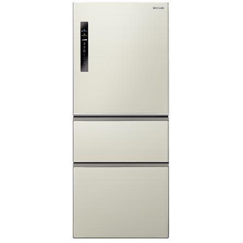 Panasonic 國際 NR-C508NHV-L 500L 無邊框三門冰箱 ECONAVI 智慧節能科技 香檳金