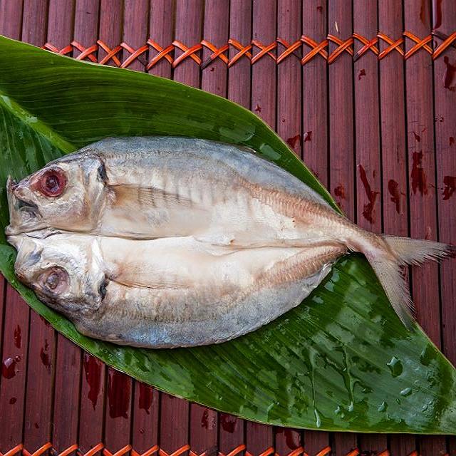 竹筴魚一夜干 100公克