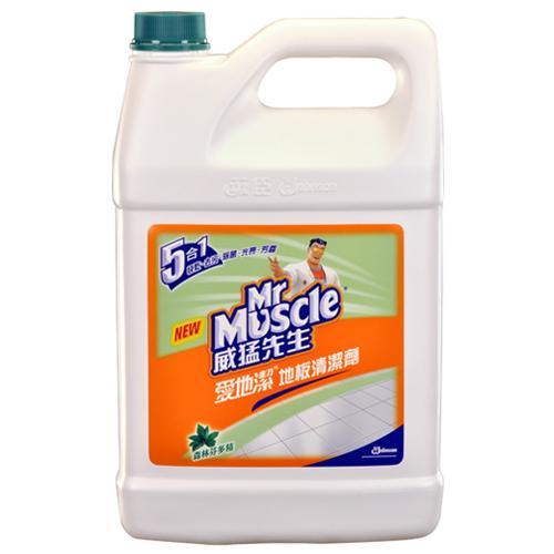威猛先生愛地潔地板清潔劑-芬多精1加侖【愛買】