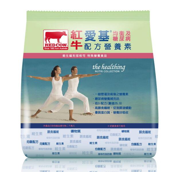 紅RED's 紅牛 愛基均衡及糖尿病配方營養素 3Kg/袋