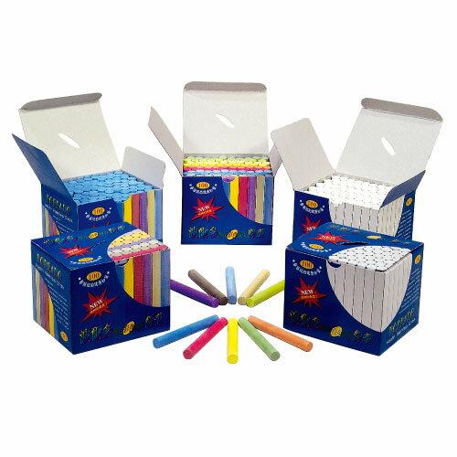 波爾多 藍色粉筆100支一盒(16盒/箱)