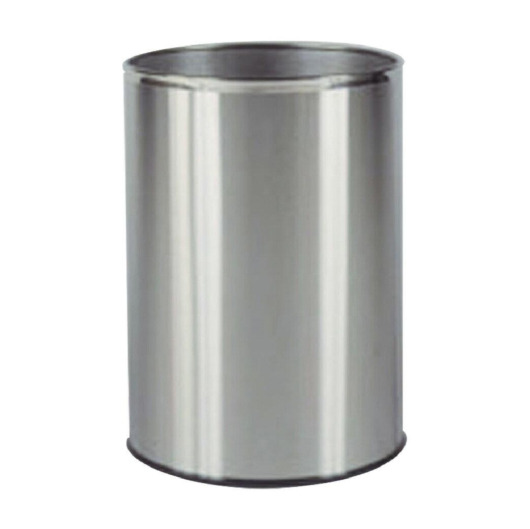 圓形不鏽鋼垃圾桶 :TR-21S: 回收桶 清潔 廚餘桶 分類桶 置物桶