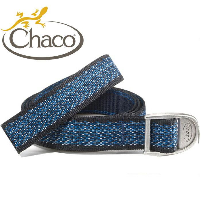 Chaco 圖騰腰帶/開瓶器腰帶/帆布皮帶/美國佳扣 女款 CH-CB006 HD55 迷漾藍鐘