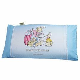 『121婦嬰用品館』狐狸村 彈力舒壓透氣嬰兒枕 - 藍 0