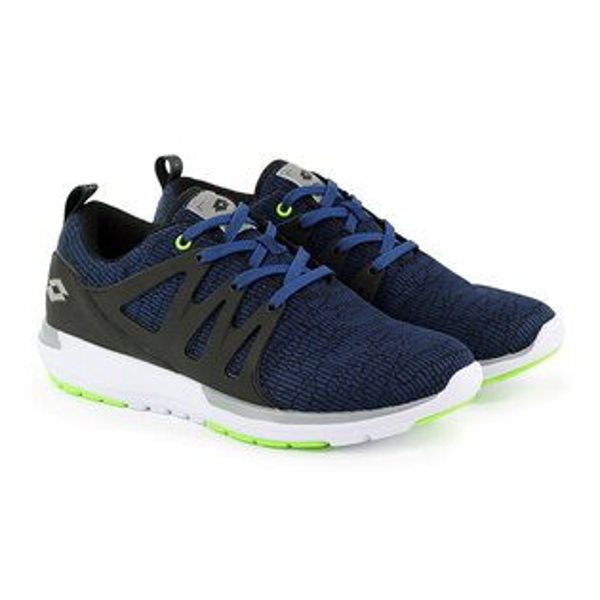 【巷子屋】義大利第一品牌-LOTTO樂得男款CITYRIDE潮流跑鞋[6926]丈青超值價$1032免運