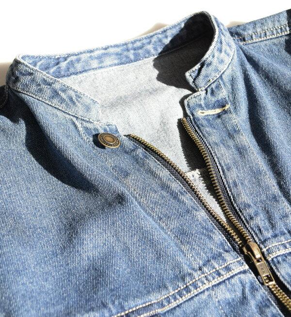 e-zakkamania / 率性牛仔外套 / 32617-1801243。2色。(4902)日本必買代購 / 日本樂天 6