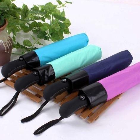 Togo Shop 購物網:(2入))Rebrella專利自動開關摺疊反向傘防潑水晴雨傘直徑106CM弧型大傘面設計