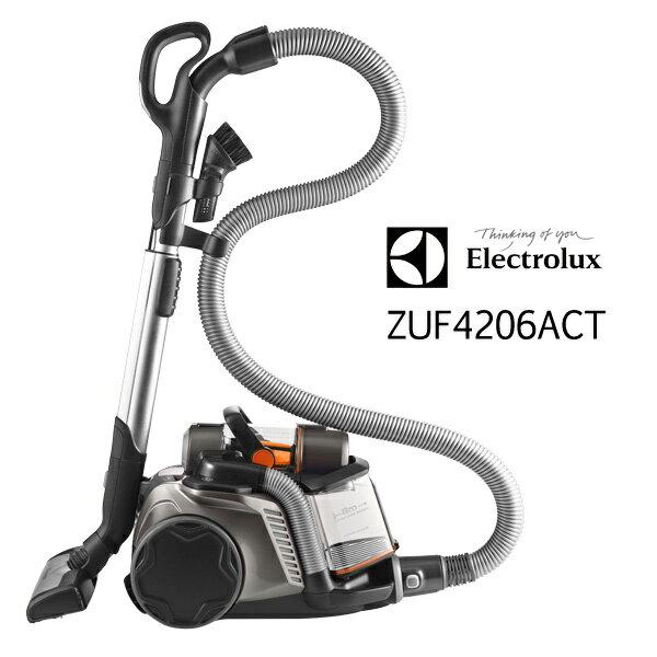 ZUF4206ACT 伊萊克斯Electrolux 無袋式抗敏除螨吸塵器【ZUA3860旗艦版 ZUF4206ACT歐洲原裝】送地板吸頭+PHILIPS HD9230免油健康氣炸鍋 1