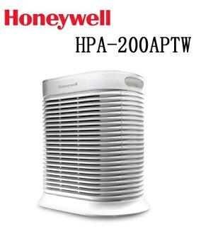 【預購,2017年3月到貨,送HEPA濾網2片】Honeywell 抗敏系列空氣清淨機 HPA-200APTW
