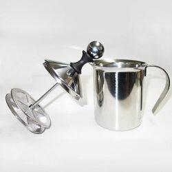 不鏽鋼雙層網奶泡器/奶泡杯 拿鐵咖啡