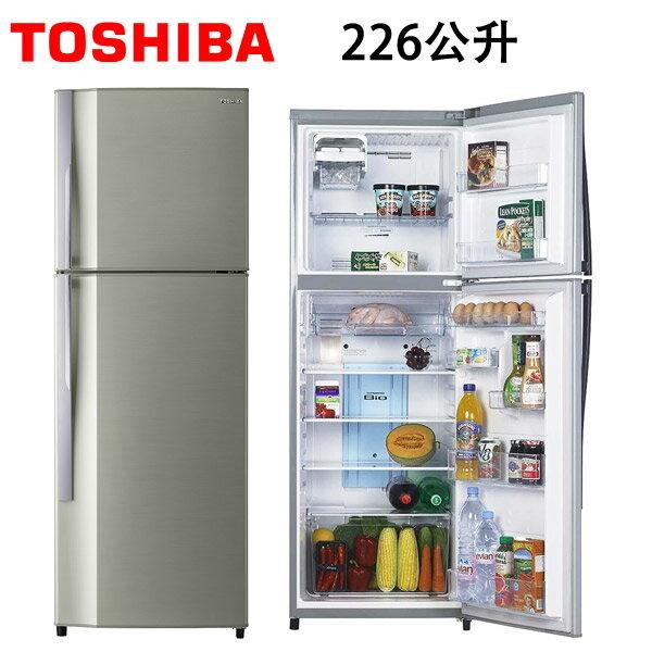 GR-S24TPB  TOSHIBA東芝 226公升雙門電冰箱 - 限時優惠好康折扣