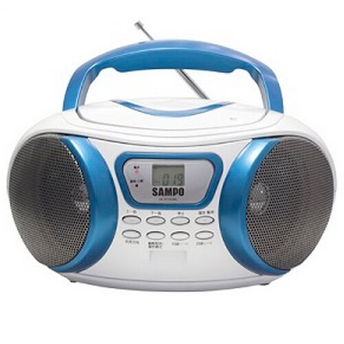 AK-W1303ML 聲寶SAMPO 手提CD/MP3音響 - 限時優惠好康折扣