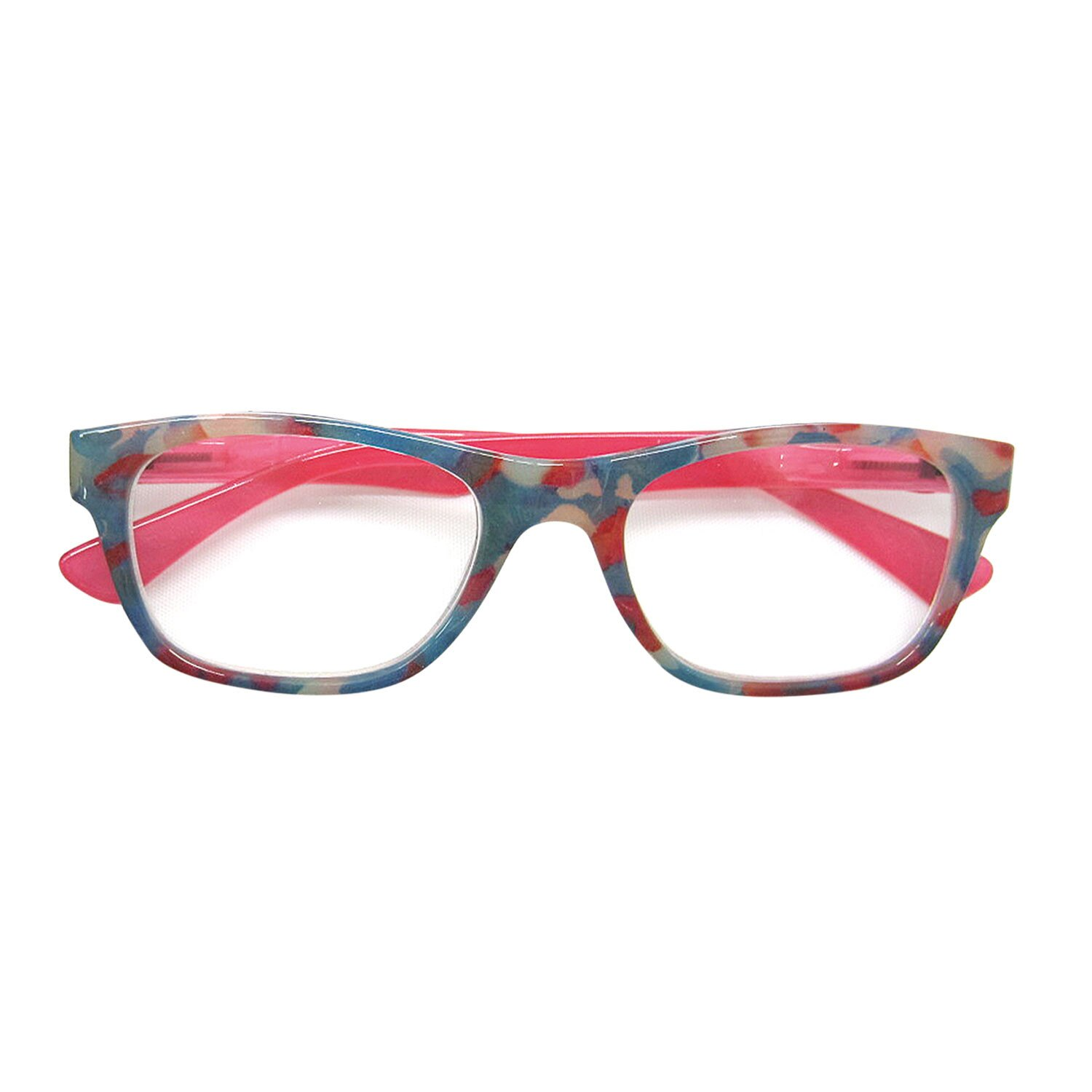 75458ff38660 Cougar Sunglasses Women s Camouflage Print Readers - Fashion Reading Glasses  - Pink - +6.00 0
