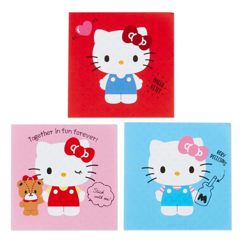 凱蒂貓kitty 紅 日本製 方形便條紙 GD31 便條紙 便簽紙 便簽本 紙 文具 辦公 學生 真愛日本