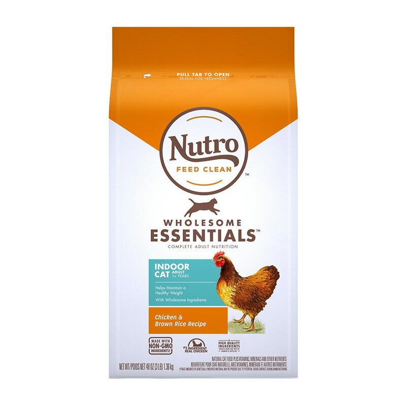 《Nutro美士》全護營養系列-室內成貓配方(雞肉+糙米)-3LB  /  貓飼料 樂天雙11 1