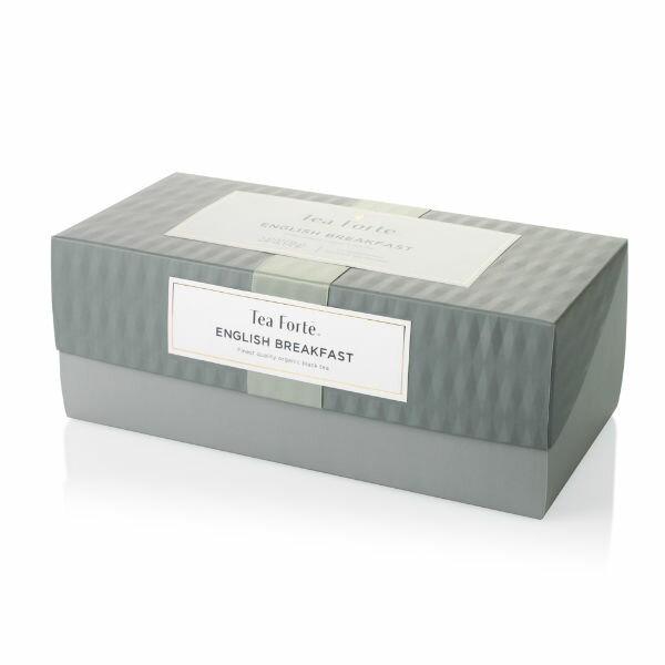 Tea Forte 20入金字塔型絲質茶包 - 英式早餐茶 Presentation Box - English Breakfast