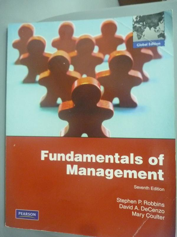 ~書寶 書T6/大學商學_XBQ~Fundamentals of Management 7