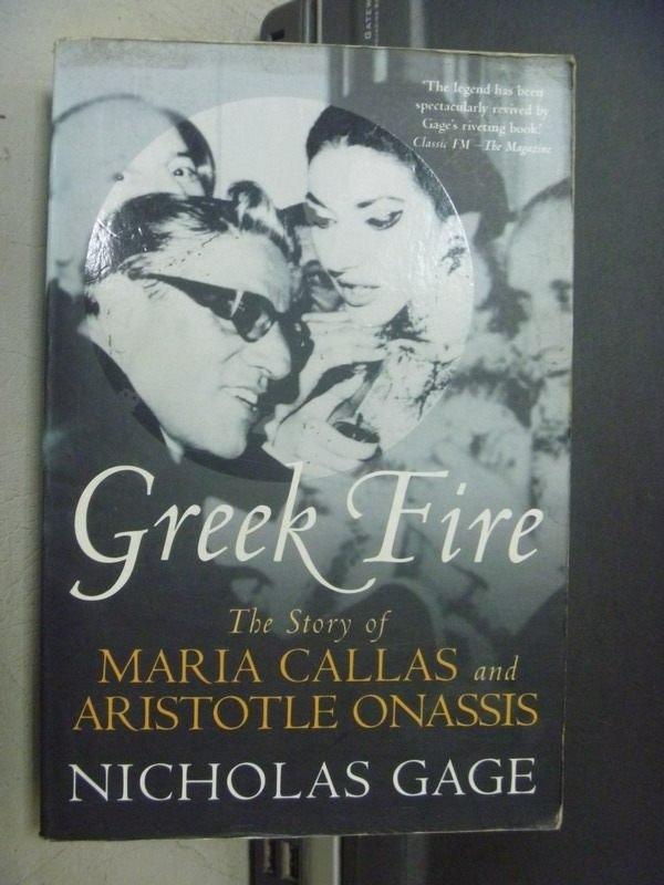 ~書寶 書T5/原文小說_OOU~Greek Fire_Nicholas Gage