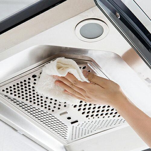 PS Mall 居家加厚吸水抹布 不沾油清潔布 雙面洗碗布 擦拭擦手巾 【J1812】 2