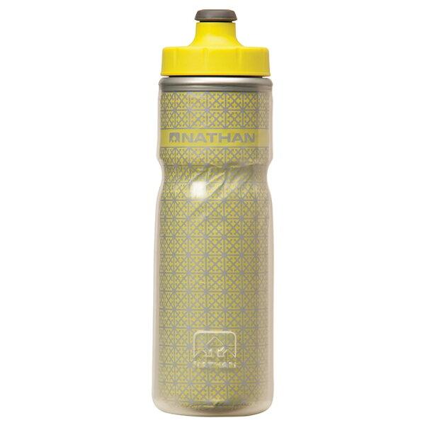 騎跑泳者FINISHER:騎跑泳勇者:NATHAN-自行車冰火保冷反光水壺(黃色)