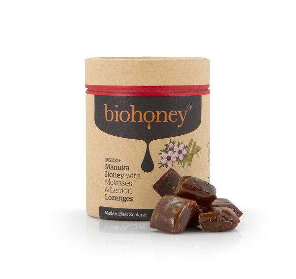 【biohoney】麥蘆卡蜂蜜與甘露蜜&檸檬潤喉糖