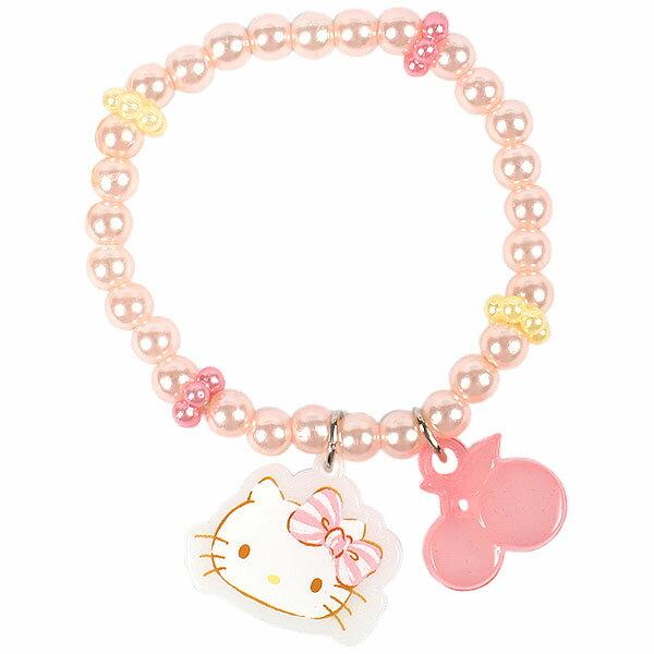 X射線【C636305】Hello Kitty 兒童手環-造型盤,三麗鷗/手環/手鍊/手飾/飾品