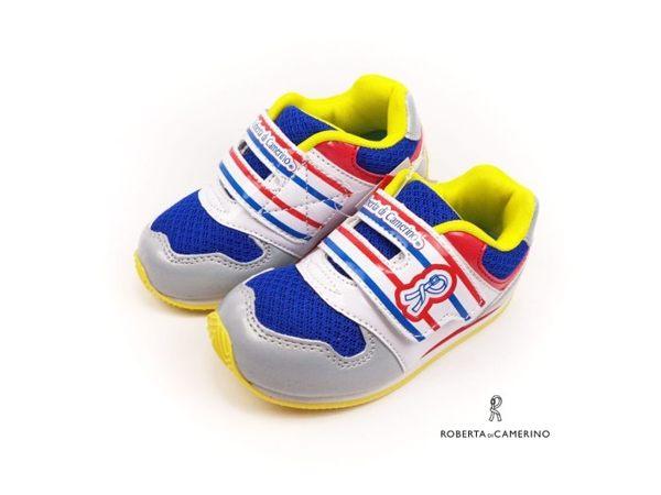 EMMA商城~童鞋/Roberta諾貝達透氣機能運動鞋 藍色16-20號