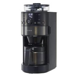 日本必買 siroca SIROCA SC-C121 全自動保溫咖啡機 研磨咖啡機 免濾紙 磨豆機  美式 黑咖啡 咖啡豆和咖啡粉兩用機型 日本必買代購