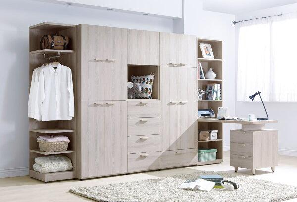 【尚品家具】HY-A106-01珊蒂10.5尺系統式衣櫥~可拆買