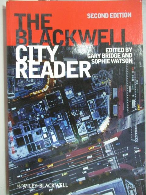 ~書寶 書T3/社會_XBC~The Blackwell City Reader_外文書
