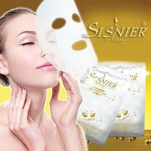 【SISNIER】全效能金鑽奇蹟極緻修護蠶絲面膜