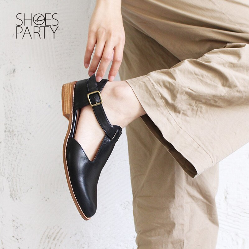 【S2-17328L】T字素面真皮牛津鞋_Shoes Party 3