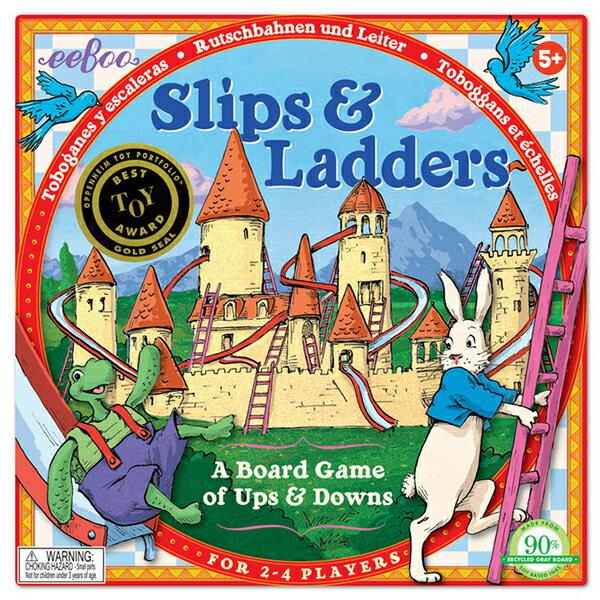 eeBoo 美國益智桌遊 Slips   Ladders 龜兔競賽